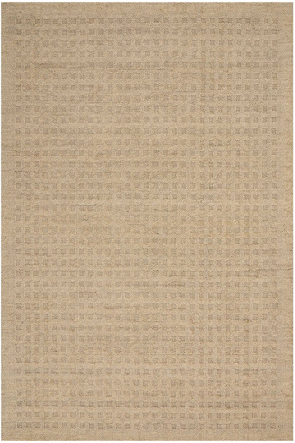 Taupe Textured Solid Area Rug