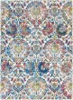 Product Image of Traditional / Oriental Ivory, Blue Area Rug