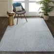 Product Image of Light Blue, Blue Geometric Area Rug