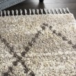 Product Image of Silver, Grey Bohemian Area Rug