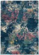 Product Image of Abstract Blue, Pink, Ivory Area Rug