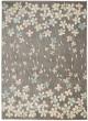 Product Image of Floral / Botanical Grey, Beige Area Rug