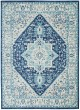 Product Image of Transitional Ivory, Navy Area Rug