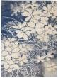 Product Image of Floral / Botanical Beige, Navy Area Rug
