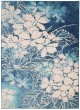 Product Image of Floral / Botanical Navy, Pink Area Rug