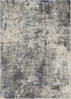 Product Image of Contemporary / Modern Dark Grey, Ivory Area Rug