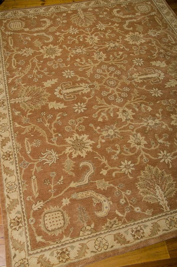 Terracotta Traditional / Oriental Area Rug