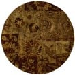 Product Image of Gold Transitional Area Rug