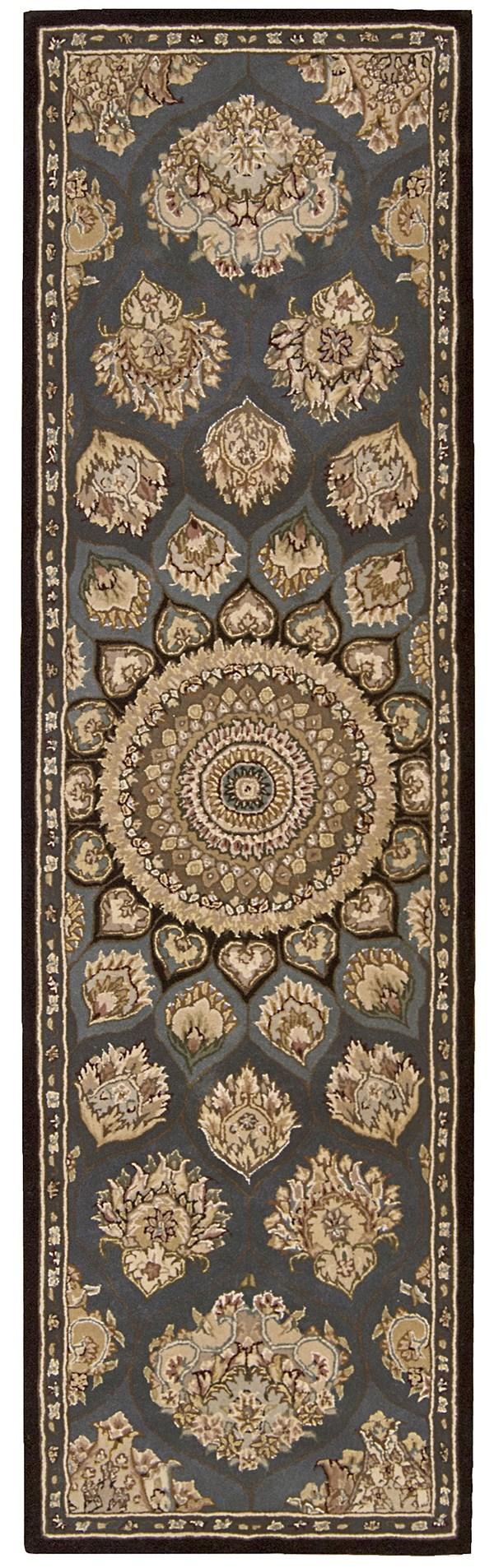 Slate Mandala Area Rug