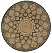 Product Image of Slate Mandala Area Rug
