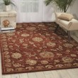 Product Image of Rust Traditional / Oriental Area Rug