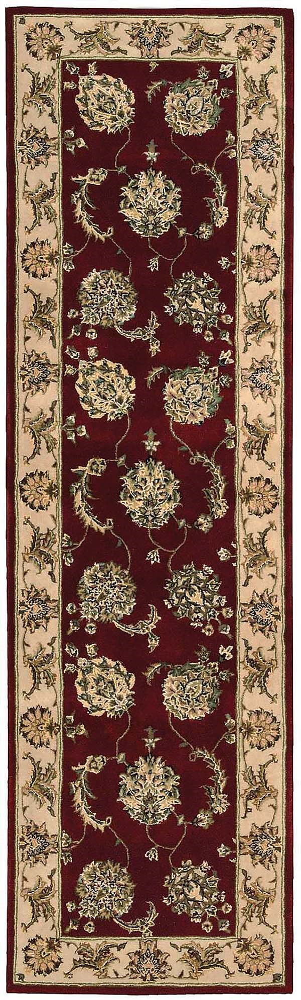 Lacquer Traditional / Oriental Area Rug