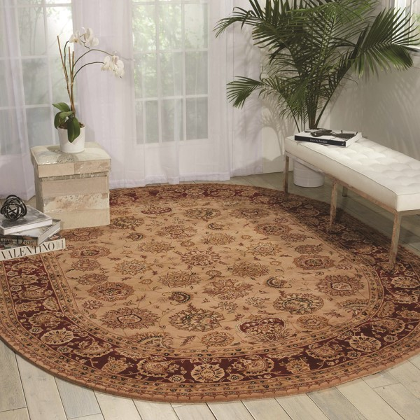 Camel Traditional / Oriental Area Rug