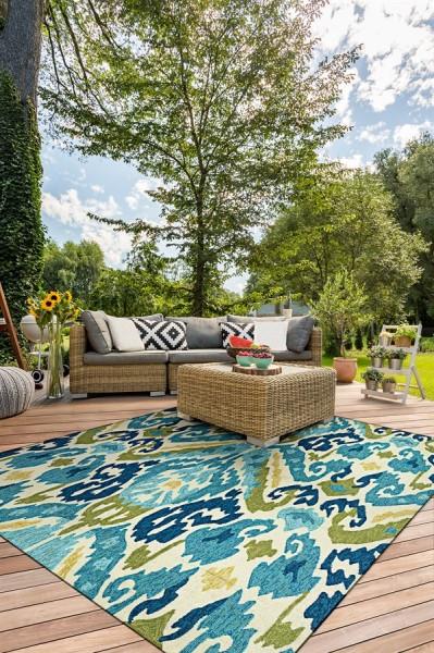 Azure, Lemon (2263-0702) Outdoor / Indoor Area Rug