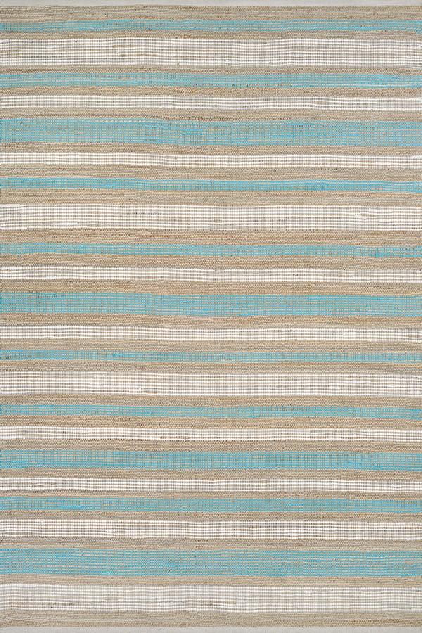 Blue, White (7294-3155) Rustic / Farmhouse Area Rug