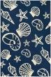 Product Image of Beach / Nautical Navy, Ivory (7334-0313) Area Rug