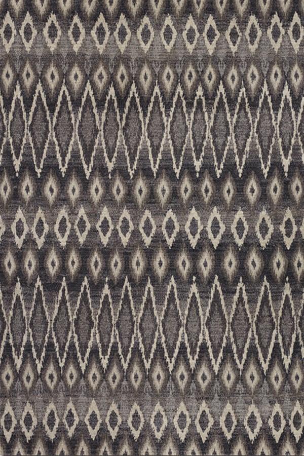 Grey (6590-4343) Southwestern / Lodge Area Rug