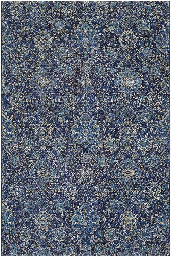 Navy, Sapphire (6335-3151) Traditional / Oriental Area Rug
