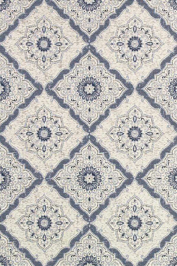 Ivory, Confederate Grey (4077-6025) Transitional Area Rug