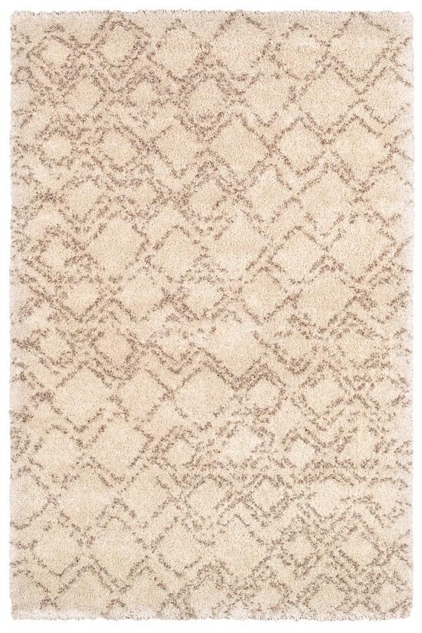 Ivory, Camel (4315-0102) Shag Area Rug