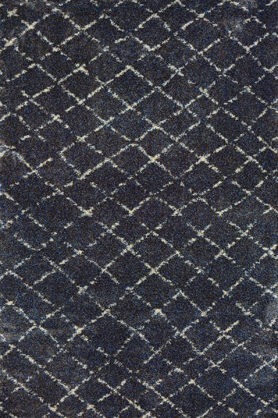 Navy, Grey (4331-7459) Contemporary / Modern Area Rug