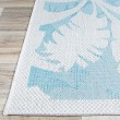 Product Image of Ivory, Turqouise Outdoor / Indoor Area Rug