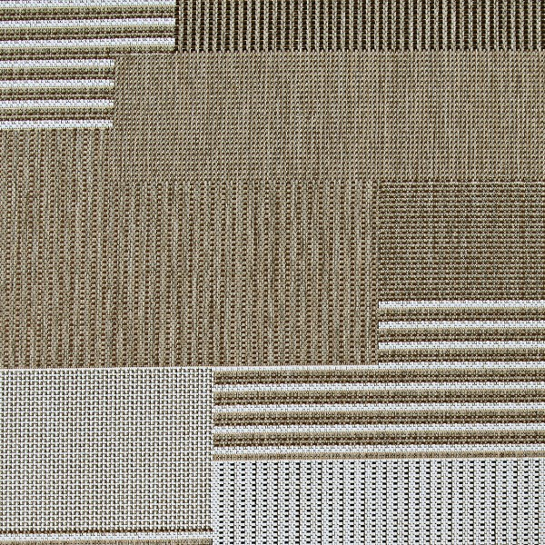Brown, Sand (2467-2003) Transitional Area Rug