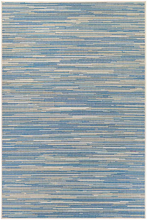 Sand, Azure, Turquoise (7847-1012) Casual Area Rug