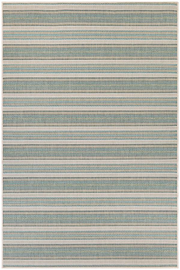 Blue Mist, Ivory (6041-3107) Outdoor / Indoor Area Rug