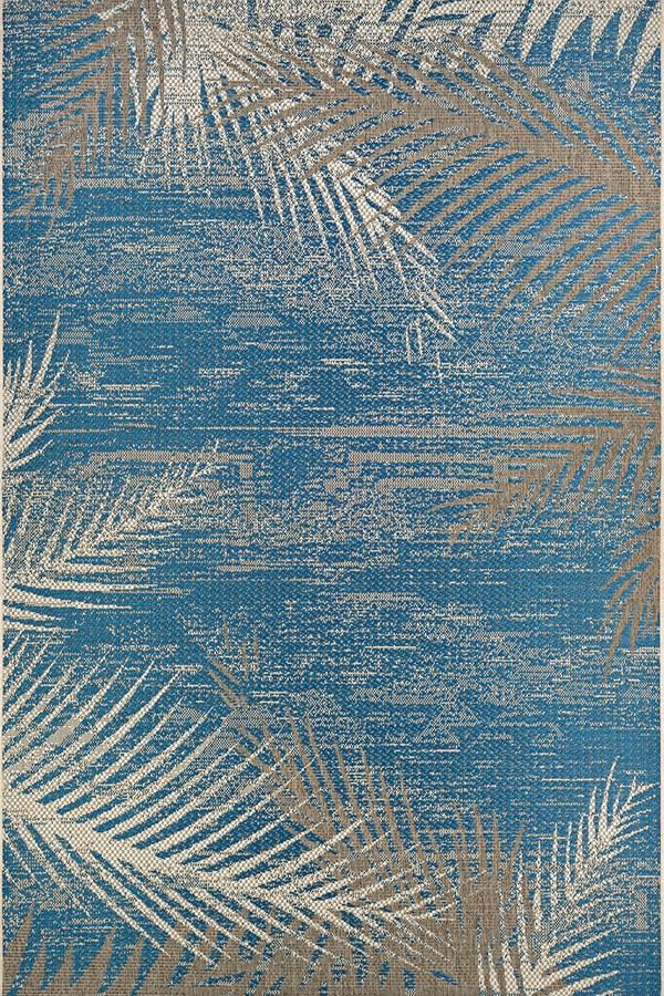 Ocean (2429-3108) Floral / Botanical Area Rug