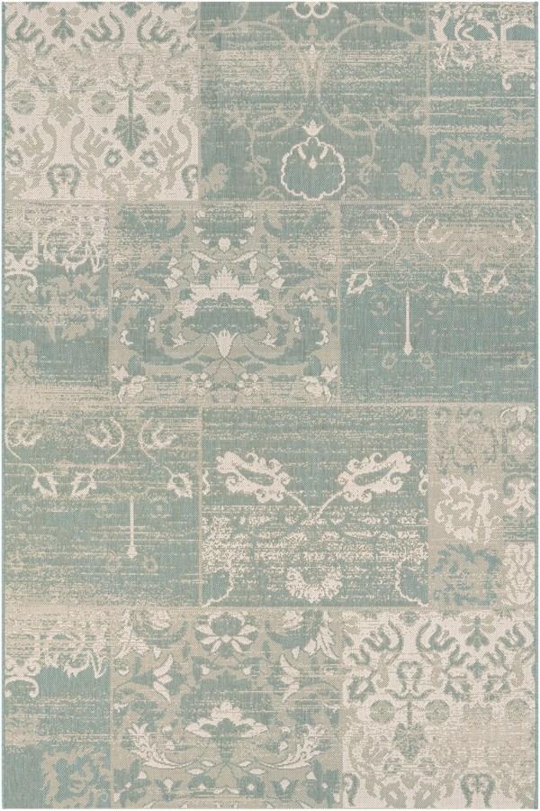 Sea Mist, Ivory (5569-0803) Vintage / Overdyed Area Rug