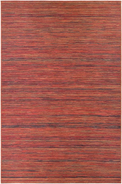 Crimson, Ivory (1407-0066) Casual Area Rug