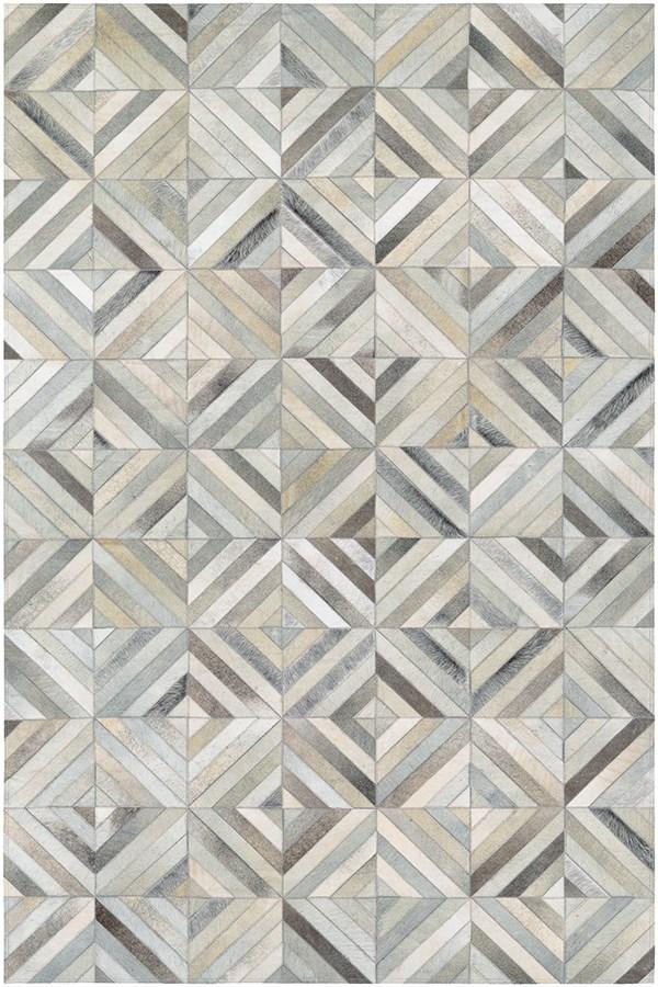 Ivory, Grey (0395-9276) Contemporary / Modern Area Rug