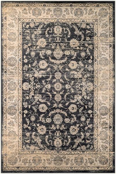 Black, Oatmeal (1142-0427) Traditional / Oriental Area Rug
