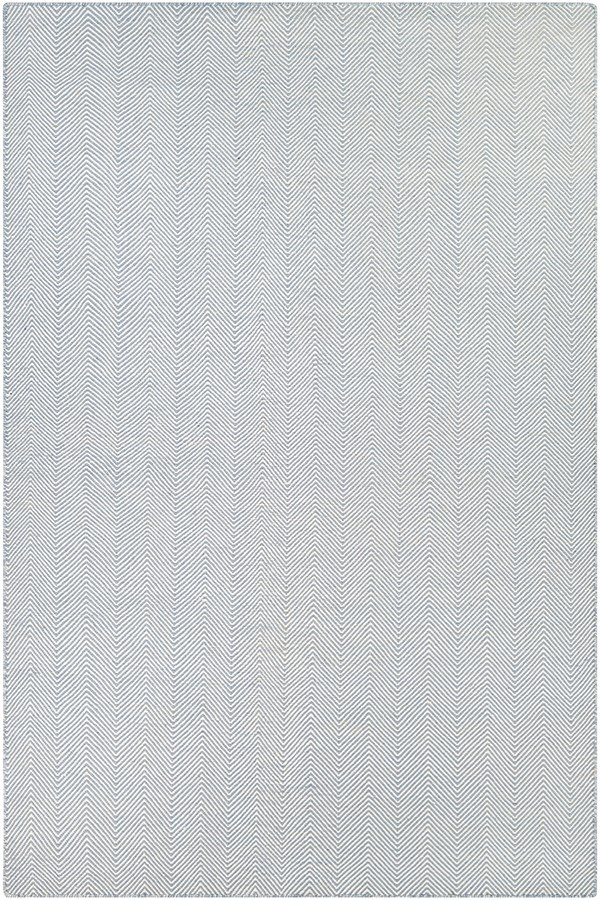 Blue, Ivory (4962-0733) Casual Area Rug