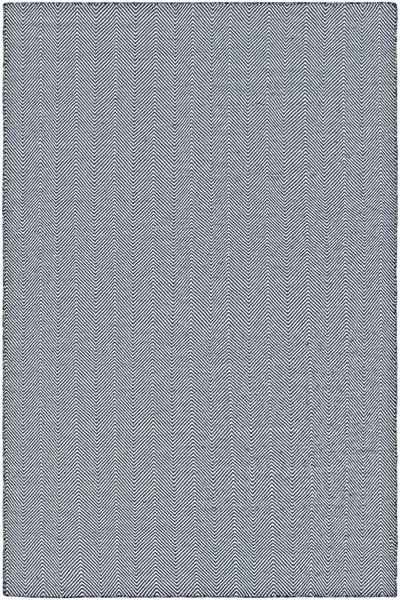 Navy, Ivory (4962-0732) Casual Area Rug