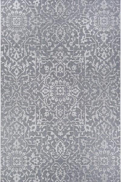 Grey, Ivory (2329-4716) Outdoor / Indoor Area Rug