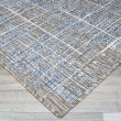 Product Image of Sand, Ivory, Indigo Outdoor / Indoor Area Rug