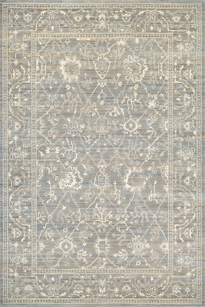 Charcoal, Ivory (6340-6323) Traditional / Oriental Area Rug