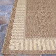 Product Image of Cocoa Natural (1681-1500) Bordered Area Rug