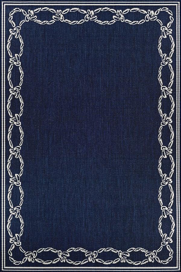 Indigo, Ivory (1682-6500) Outdoor / Indoor Area Rug
