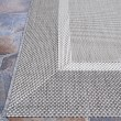 Product Image of Grey, Champagne (5526-3312) Outdoor / Indoor Area Rug