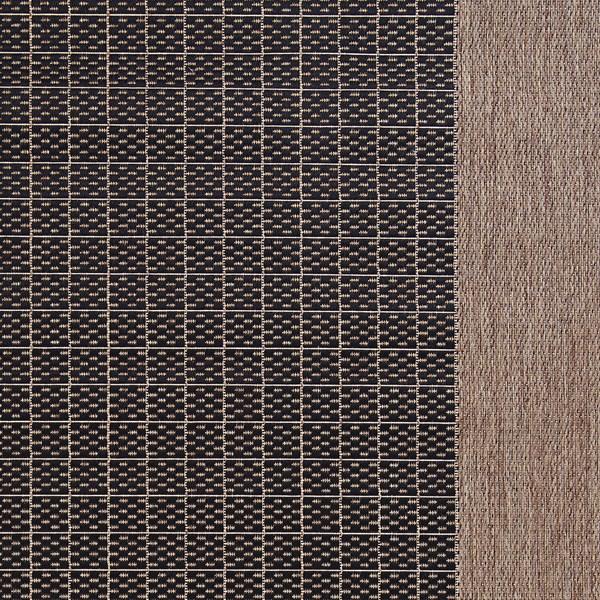 Black, Cocoa (1005-2000) Outdoor / Indoor Area Rug