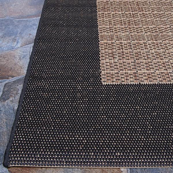 Cocoa, Black (1005-2500) Outdoor / Indoor Area Rug