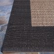Product Image of Cocoa, Black (1005-2500) Outdoor / Indoor Area Rug