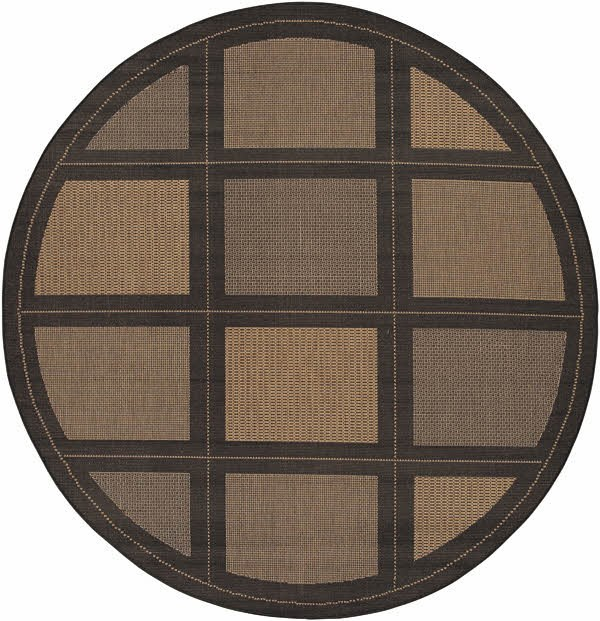 Cocoa, Black (1043-2500) Transitional Area Rug