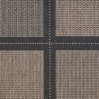 Product Image of Cocoa, Black (1043-2500) Transitional Area Rug