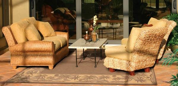 Beige, Natural (1222-0722) Outdoor / Indoor Area Rug
