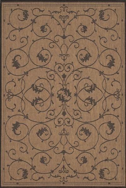 Cocoa, Black (1583-2500) Traditional / Oriental Area Rug