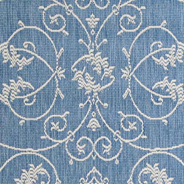 Champagne, Blue (1583-1212) Traditional / Oriental Area Rug